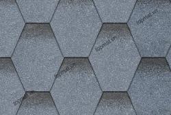 Ngói đá Bitum phủ đá tổ ong màu xanh xám Cana