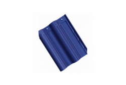 Ngói Prime hai sóng tráng men xanh tím than 08.04.109