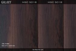 Sàn nhựa vinyl Galaxy vân gỗ MSC 5018