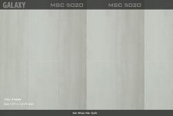 Sàn nhựa vinyl Galaxy vân gỗ MSC 5020