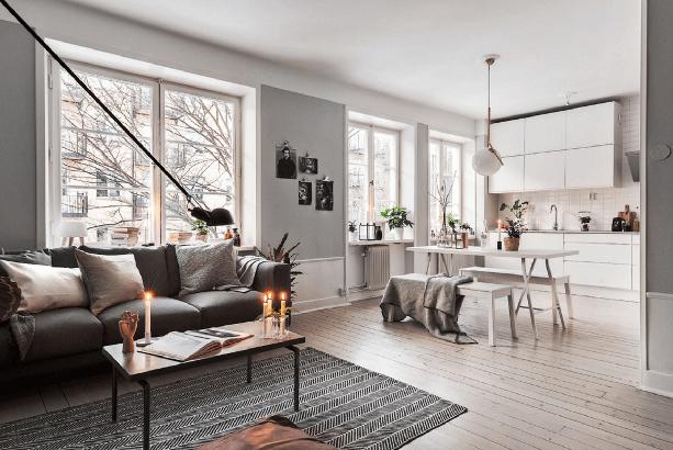 Thiết kế nội thất lấy sáng nhà phố